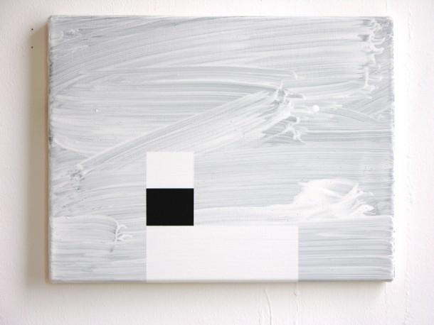Brighton Beach 4 / 2007 / acrylic on canvas / 35 cm x 45 cm