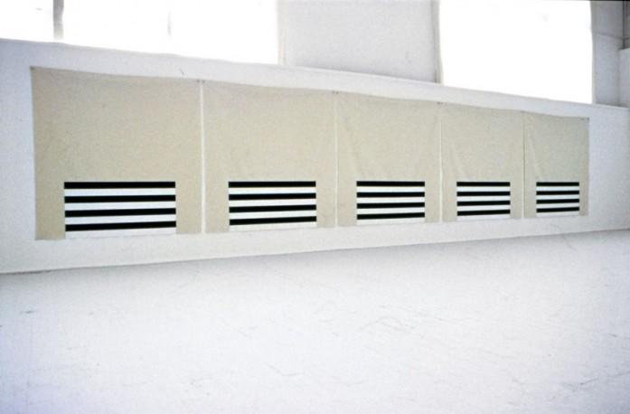 Dam / 1998 / acrylic on canvas / 1.82 m x 9.14 m