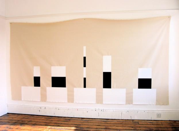 Houses / 2008 / acrylic on canvas / 1.83 m x 3.65 m