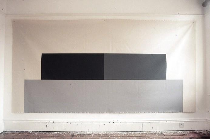 Julie On The Beach / 2004 / acrylic on canvas / 1.82 m x 3.65 m