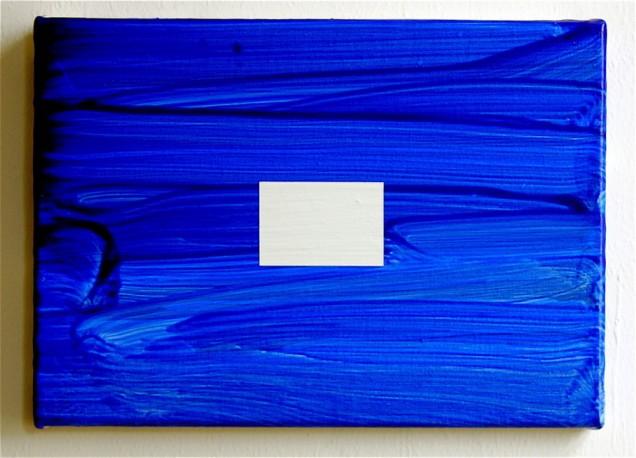 Landscape / 2007 / acrylic on canvas / 25 cm x 35 cm / private collection