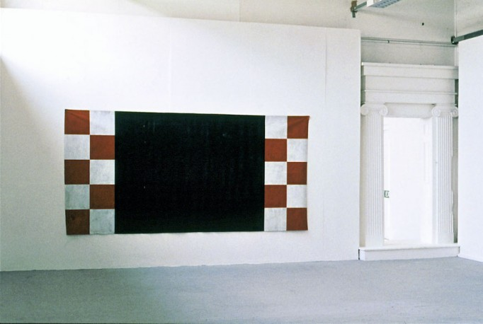 Meat Pie Culture / 1993 / acrylic on canvas / 1.82 m x 3.65 m