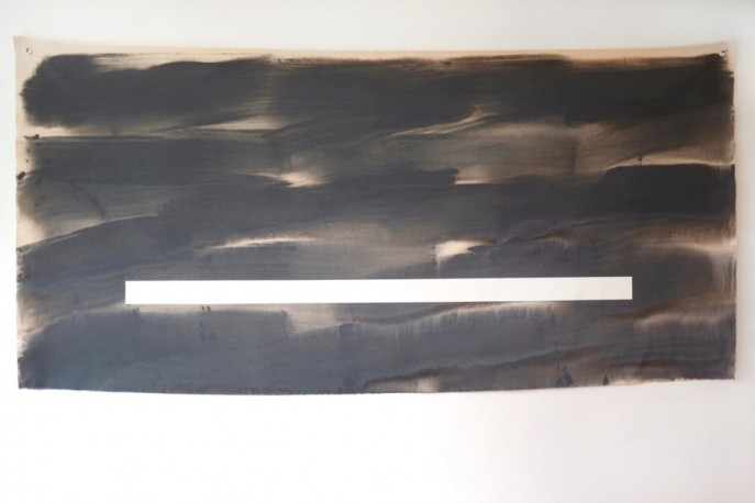 Dictionary of Silences 1 / 2014 / acrylic on canvas / 92 cm x 183 cm