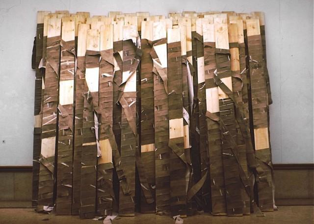 Essex Carlton (Coventry version) / 1974 / acrylic on canvas / 3.35 m x 3.35 m