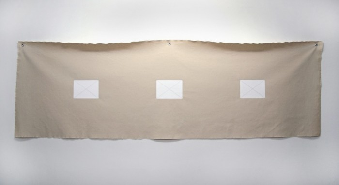 Kissamos / 2011 / acrylic and pencil on canvas / 70 cm x 180 cm