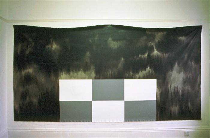 NY House / 2001 / acrylic on canvas / 1.82 m x 3.65 m