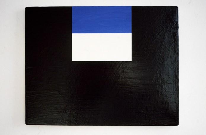 Pier / 2006 / acrylic on canvas / 35 cm x 45.7 cm