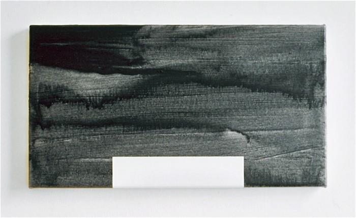 NY House 1 / 2001 / acrylic on canvas / 30.5 cm x 55.8 cm