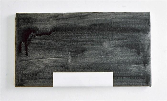 NY House 2 / 2001 / acrylic on canvas / 30.5 cm x 55.8 cm