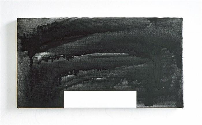 NY House 3 / 2001 / acrylic on canvas / 30.5 cm x 55.8 cm